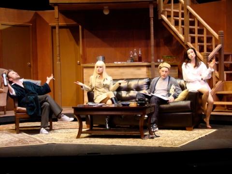 (left to right) Dylan Marks, Julie Schroll, Jonathan Nichols and Kelly Lynn Hogan